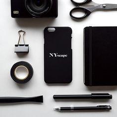 NYscape Logo iPhone case  -Matte Black