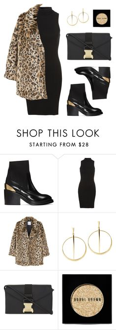 """""""Golddie"""" by baludna ❤ liked on Polyvore featuring Acne Studios, MANGO, Lana, Christopher Kane and Bobbi Brown Cosmetics"""