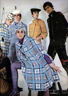 Vintage Fashion by Pierre Cardin * L'Officiel Magazine 1968