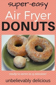 Remember a few weeks ago when I tried to make Krispy Kreme donuts from scratch in my new Go Wise Air Fryer? Well it was a lot of work and even though it COULD have turned out perfectly if I hadn…