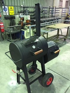 Small Offset Reverse Flow Smoker BBQ | Made in Adelaide | Rustic Soul