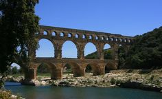 """Pont du Gard, near N�mes."" (From: 40 Stunning Photos of France)"