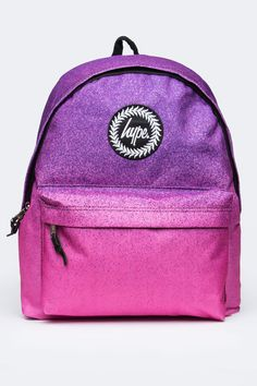 HYPE SPECKLE FADE PURPLE/PINK BACKPACK
