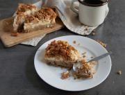 STOBklub - Jablečný koláč z ovesných vloček a řeckého jogurtu