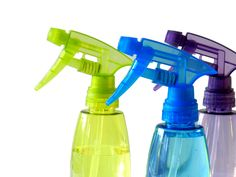 Swap out apple cider vinegar for some of your household products as a non-toxic alternative.