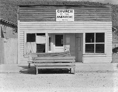 Walker Evans, Church of the Nazarene, Tennessee, 1936