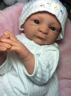 Custom Reborn baby doll by SpookyHollow on Etsy, $450.00