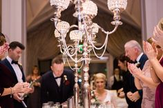 A gold, glam wedding at the impressive Faithlegg House Hotel. Wedding Music, Hotel Wedding, Wedding Paper, Wedding Bands, Cake Table, Love Cake, Custom Boxes, Wedding Details, Tea Lights