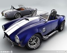 AC Shelby Cobra 427 | http://carsandsuchcollections.blogspot.com