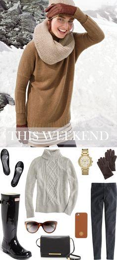 CHIC COASTAL LIVING: Weekend Picks... winter