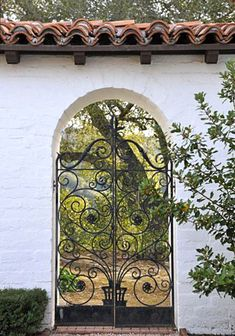 #Wrought Iron #Gate