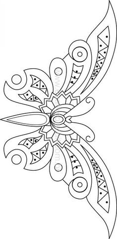 TEMPLATES BLACK AND WHITE HUICHOL ART - Google Search