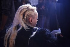 Bad-Ass Braid Inspiration Brought To You By DKNY #Refinery29