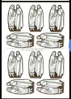 All Saints Day, Bible Crafts, Kirchen, Madonna, Drawings, Christmas Crafts, Sunday School, Sagrada Familia, Infancy