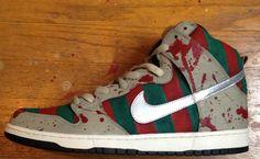 Nike SB Dunk High Freddy Custom