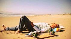Simon Baker ~sunbathing ☀️