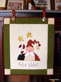 Blog de patchwork :PATCHWORK, Painel de Natal