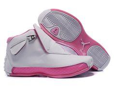 81d2806976b7a8 Womens    New Nike Air Jordan Womens White Pink Basketball Shoes