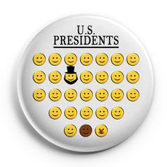 Presidents of the United States, a brief history on a button - ButtonPunt.be