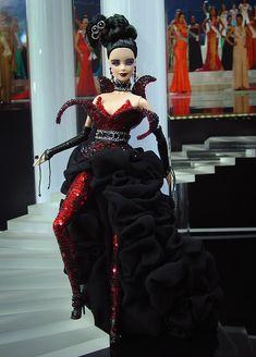 OOAK Barbie NiniMomo's Miss Croatia 2011