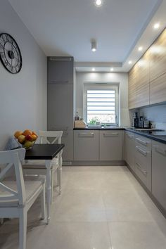 surprising small kitchen design ideas and decor 1 « A Virtual Zone Narrow Kitchen, Ikea Kitchen, Kitchen Furniture, Kitchen Dining, Kitchen Decor, Kitchen Cabinets, Kitchen Ideas, Kitchen Walls, Küchen Design
