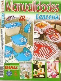 Revistas de manualidades Gratis: baños decoracion