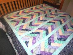 Braid quilt 2 ways