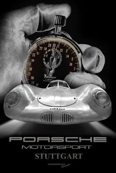 Posters - Start einer Legende / Star of a Legend / Porsche Typ 64.