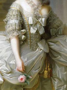 Prateado E Dourado...  Louise Élisabeth Vigée Le Brun - arquiduquesa Maria Antonieta, rainha da França.
