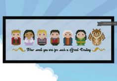 View of Cloudsfactory's newest product marvels. Explore our range of contemporary cross stitch and quilt patterns and accessories. TV shows, Movies, Fairy Tales and much more for hours of cross stitching fun! Cloudsfactory - It's a love affair! Cross Stitching, Cross Stitch Embroidery, Embroidery Patterns, Cross Stitch Patterns, Beading Patterns, Crochet Patterns, Merlin, Cross Stitch Boards, Mini Cross Stitch