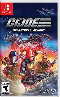 G.I. Joe and Cobra are back! G.I. Joe Operation Blackout is a classic team-based third-person shooter game where you play as your favorite characters from Team G.I. Joe and Team Cobra. Experience the action from both sides as you help G.I. Joe restore order and lead Cobra to world domination. Nintendo Switch Games, Xbox One Games, Ps4 Games, Playstation Games, Date And Switch, Third Person Shooter, Capture The Flag, Cobra Commander, Storm Shadow