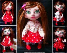 doll Disney Characters, Fictional Characters, Dolls, Disney Princess, Handmade, Baby Dolls, Hand Made, Doll, Craft