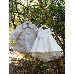 Χειμερινό βαπτιστικό φόρεμα Dolce Bambini από βαμβακερό ύφασμα και ασύμμετρο τούλι, Χειμωνιάτικα βαπτιστικά ρούχα κορίτσι τιμές, Χειμερινό φόρεμα βάπτισης τιμές-προσφορά, Επώνυμο βαπτιστικό φόρεμα Χειμερινό οικονομικό Girls Dresses, Flower Girl Dresses, Wedding Dresses, Fashion, Dresses Of Girls, Bride Dresses, Moda, Bridal Gowns, Fashion Styles