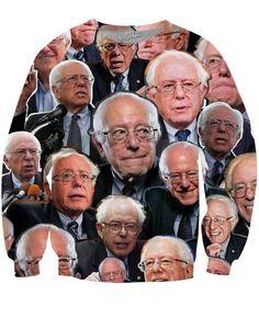 Bernie Sanders Paparazzi Crewneck Sweatshirt