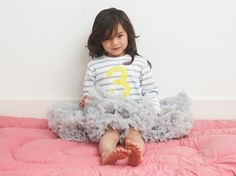 Bob & Blossom Ltd. :: Tutus :: Pale Grey Tutu