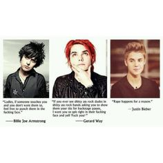 love music quotes hell rock lyrics selena gomez gerard way punk my... ❤ liked on Polyvore featuring quotes, text, phrase and saying