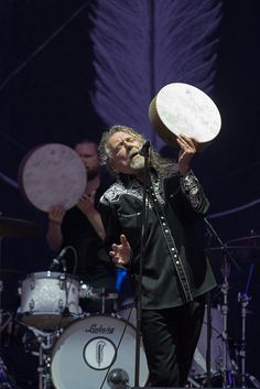 #RobertPlant and The Sensational Space Shifters perform on the main stage at NOS Alive Music Festival on July 7, 2016 in Lisbon, Portugal.