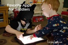 Favorite Apps for Toddlers