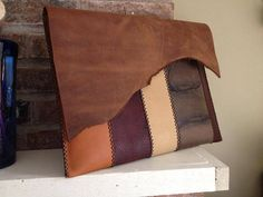 Handmade Leather Laptop Sleeve