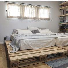 Room Design, Home Decor Bedroom, Minimalist Bed, Room Interior, Home Decor, House Beds, House Interior, Apartment Decor, Interior Design