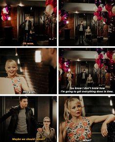 Arrow - Donna, Oliver & Felicity #4.14 #Olicity