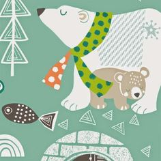 print & pattern   Maude Asbury for Blend Fabrics