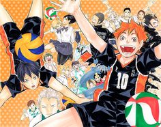 Haikyu!! ~~ Check out who is peeking out of the trashcan :: ハイキュー!!.com