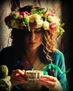 Tea and Roses, Photographic Portrait by MerlePaceArts