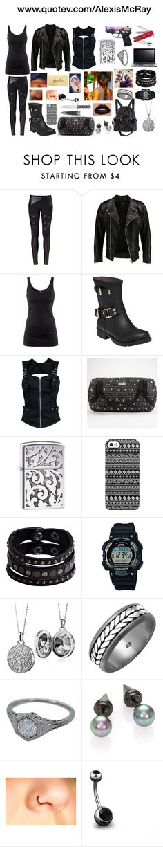 """""""Under Cover"""" by alexiskicksbutt ❤ liked on Polyvore featuring David Lerner, VIPARO, H&M, Colors Of California, Dakine, Uncommon, Acer, Replay, Casio and Blue Nile"""