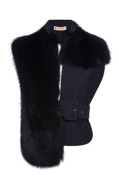 Raccoon Fur Stole by Marni for Preorder on Moda Operandi