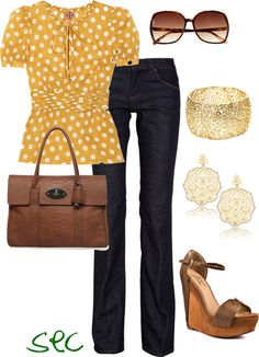 """""""Yellow and gold"""" by coombsie24 on Polyvore"""