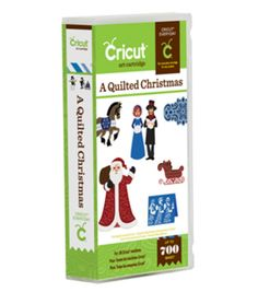 Cricut® A Quilted Christmas CartridgeCricut® A Quilted Christmas Cartridge,