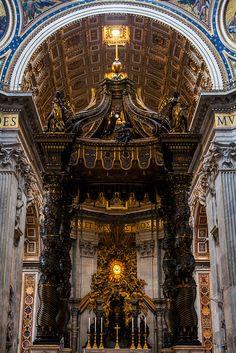 St. Peter's Basilica, Vatican City...