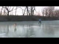River by  Sarah Mclachlan and Ice Skating,user/enlightenedtool and his Dog..Bear